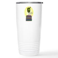retired librarian BOOK BIRD 2.PNG Travel Mug