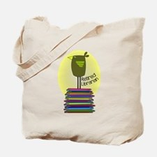 retired librarian BOOK BIRD 2.PNG Tote Bag