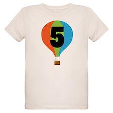 5th Birthday Air Balloon T-Shirt