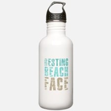 Resting Beach Face Col Water Bottle