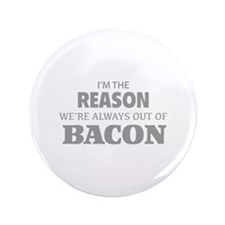 """Bacon 3.5"""" Button (100 pack)"""