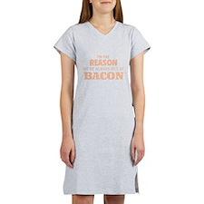 Bacon Women's Nightshirt