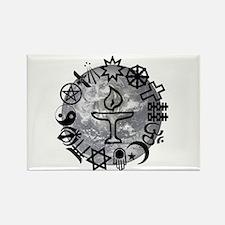 Unitarian 6 Rectangle Magnet