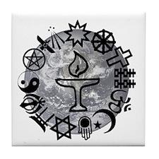 Unitarian 6 Tile Coaster