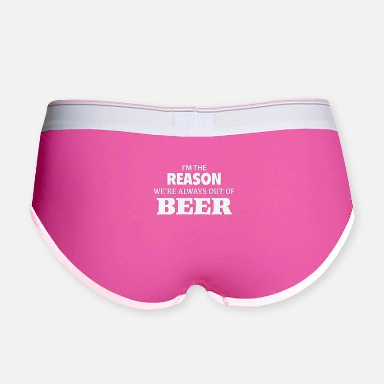Beer Women's Boy Brief