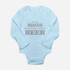 Beer Long Sleeve Infant Bodysuit