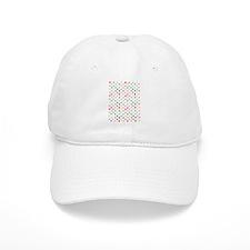 Rainbow Polka Dots Baseball Cap