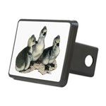 Tufted Toulouse Goslings Rectangular Hitch Cover