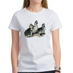 Tufted Toulouse Goslings Women's T-Shirt