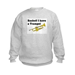 Trumpet. Sweatshirt