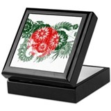 Bangladesh Square Keepsake Boxes