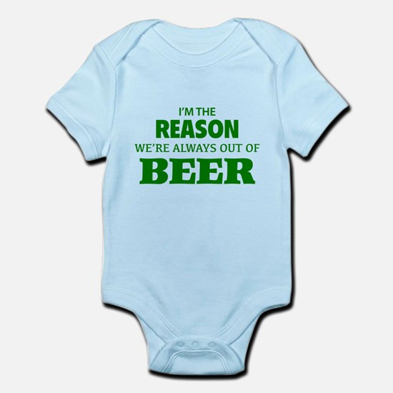 Beer Infant Bodysuit
