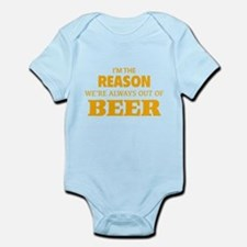 Beer Infant Bodysuit