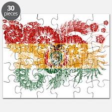 Bolivia Flag Puzzle