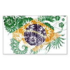 Brazil Flag Decal