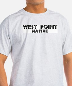 West Point Native Ash Grey T-Shirt