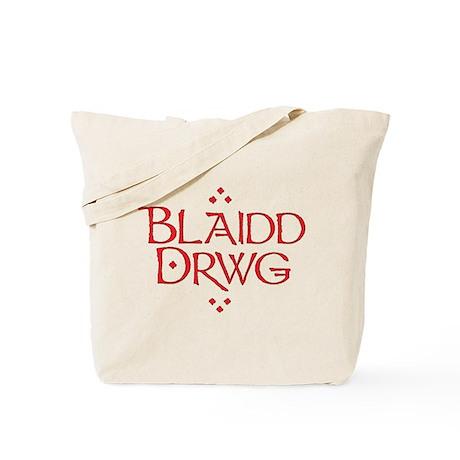 blaidd drwg Tote Bag