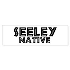 Seeley Native Bumper Bumper Sticker
