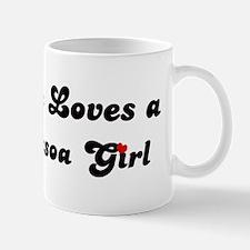 Loves Joao Pessoa Girl Mug