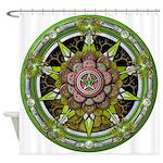 Elemental Pentacle - Earth Shower Curtain