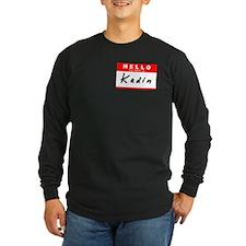 Kadin, Name Tag Sticker T