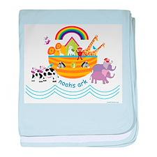 Noahs Ark Animals baby blanket