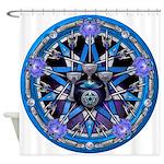 Elemental Pentacles - Water Shower Curtain