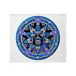 Elemental Pentacles - Water Throw Blanket