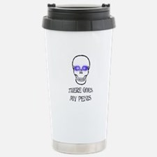 There Goes My Penis Stainless Steel Travel Mug