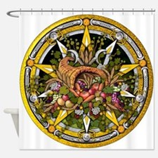 Mabon Pentacle Shower Curtain