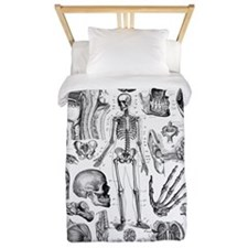 Human Anatomy Twin Duvet