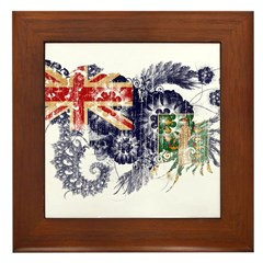 British Virgin Islands Flag Framed Tile