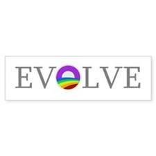 Evolve 2012. Support Marriage Equality Bumper Sticker