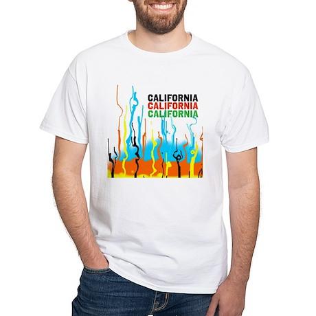 California heat waves White T-Shirt