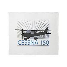 Aircraft Cessna 150 Throw Blanket