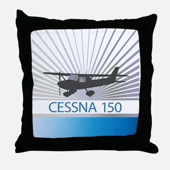 Aircraft Cessna 150 Throw Pillow