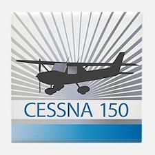 Aircraft Cessna 150 Tile Coaster