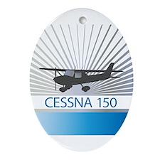 Aircraft Cessna 150 Ornament (Oval)
