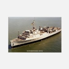 USS PLYMOUTH ROCK Rectangle Magnet