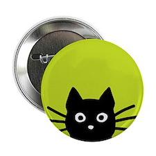"Black Cat 2.25"" Button (10 pack)"
