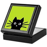Cat Square Keepsake Boxes