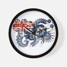 Cook Islands Flag Wall Clock