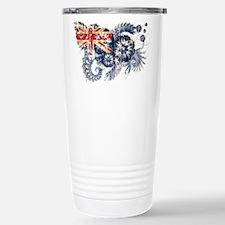 Cook Islands Flag Travel Mug
