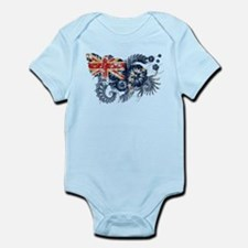 Cook Islands Flag Infant Bodysuit