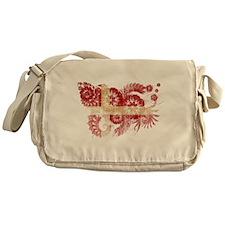 Denmark Flag Messenger Bag