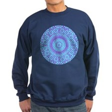 spiritual meditation mandala (aqua) Sweatshirt