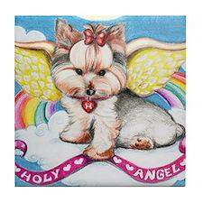 Holy Angel Tile Coaster