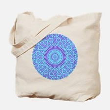 spiritual meditation mandala (aqua) Tote Bag