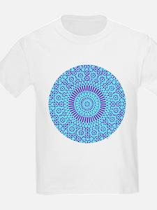 spiritual meditation mandala (aqua) T-Shirt