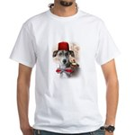 Adventure Italian Greyhound White T-Shirt